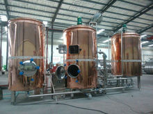 red copper tank used brewery equipment for sale 500L,700L,1000L one batch beer brewery equipment