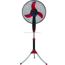 16 inch household and hot selling stand fan with tripod base and powerful motor