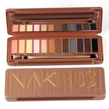 2015 hotsale colorful wholesale makeup naked eyeshadow palette