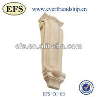 solid hand carved wood decorative corbels(EFS-CC-03)