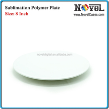 Simple and practical blank 8 inch Sublimation Polymer Plate