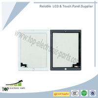 Wholesale original new LCD Touch screen panel digitizer for iPad 2,iPad2 tablet PC white color and black color