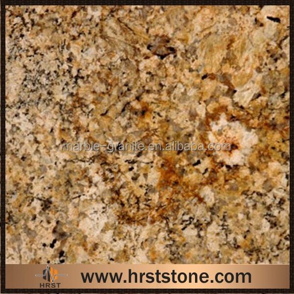 Composite Orange Prada Gold Granite Countertops