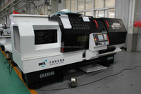 CKE6150Z Hydraulic Chuck/ Tailstock Dia. 500mm High Efficiency Auto Speed Change CNC Lathe