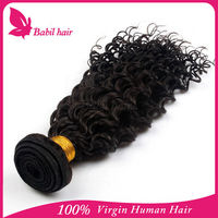New products 6A virgin unprocessed wholesale afro textured hair extensions for 2015