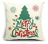 2015 china Wholesale Factory Directly of warm and fashion Christmas pillow case