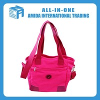 2015 fantastic rose red leisure non-woven fabric bag