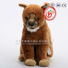 Emulational plush and stuffed dog toys(ICTI audited)