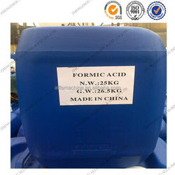 Chemical formula HCOOH formic acid manufacturing