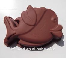 El molde de silicona torta, molde para hornear jabón hecho a mano molde de pescado