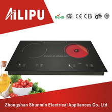 2 hot plates electric ceramic cookware with induction cookware,induction with infrared cooker