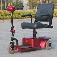 3 Wheel mobility electric scooter with CE DL24250-1(China)
