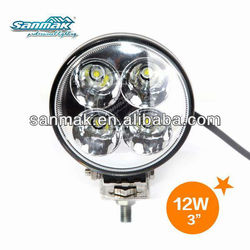 SM6052-12 Auto Parts / Motorcycle / car parts led work light