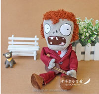 hot new products for 2015 Halloween toy wholesale customized stuffed soft plush toy halloween anima toys for kids