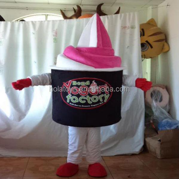 Hola food adult frozen yogurt mascot costume5.jpg
