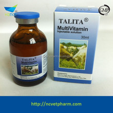 Animal medicine manufacturer 30ml Multivitamin Injection export to Angola