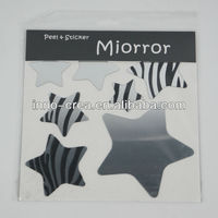 Adhesive Reflections-Mirror Stars Wall Stickers