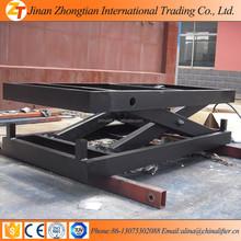 Stationary Hydraulic control Scissor elevating platform