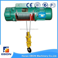 CD, MD Type Electric Hoist Which Used On Overhead Crane and Gantry Crane Wire Rope Hoist