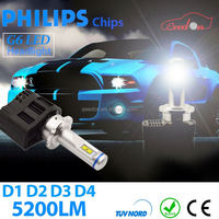 Qeedon car tuning led light 4500lm 45W canbus w21w 7440