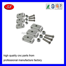 customized stainless steel 316 Dual Brake Line Clamps cnc machining service manufacturer part