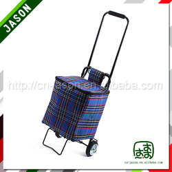 Foldable shopping trolley /vegetable shopping trolley bag