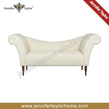 white color thick fabric upholstery American Brand sofa