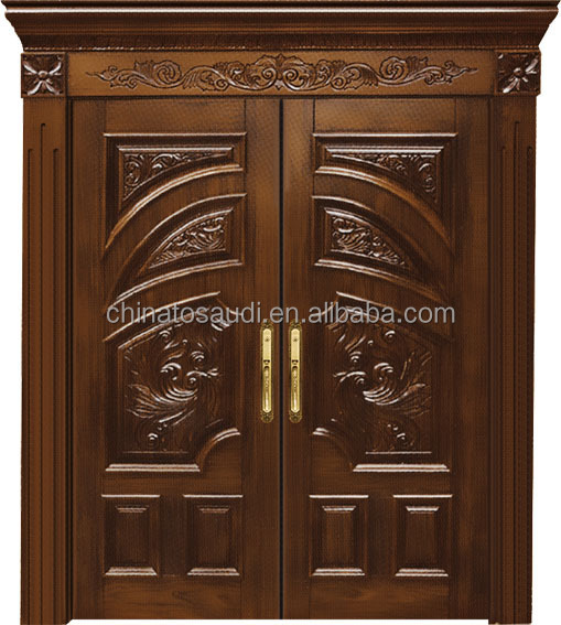 2015 luxury produce latest main gate designs wooden doors