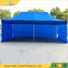 2015 pop up tent folding gazebo with 4 pcs sidewalls 3*6M