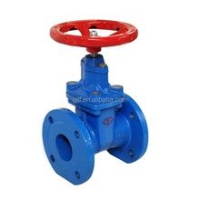 cast iron body non-rising stem resilient soft seated gate valve