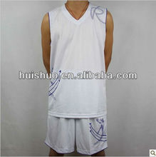 Factory price new style basketball jersey