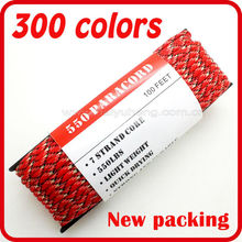 most popular high quality 550 paracord diameter