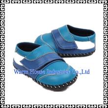 caliente de cuero genuino suela suave infantil al por mayor zapatos de bebé mocasín