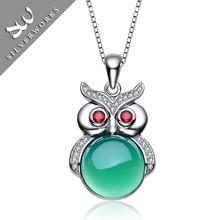 Wholesale Women Gemstone Pendant Charms Cat Eyes