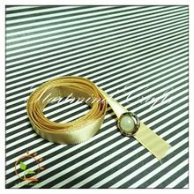 DIY Heat transfer pure printed Yellow Satin Rainbow Ribbon