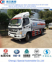 good quality refueling tank truck, fuel transportation vehicle