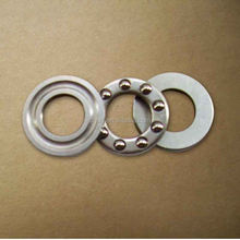 axial mini brass cage thrust ball bearing F4-10