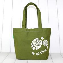 Custom color silk printed cotton fabric make cloth shopping bag