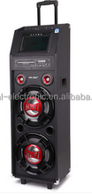 audio speaker portable active speakers with Bluetooth, light,Mic,karaoke,DVD ---with CE/RoHs/REACH E