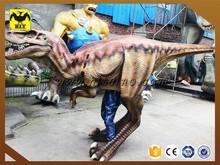 Handmade life size carnival costume dinosaur