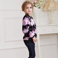Customized jackets for girls,cheap girls velvet jackets