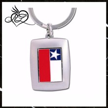 Chile Flag Key Chain