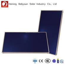 2015 China hot sell split pressure flat plate solar water heater collector, flat plate solar water heater