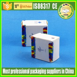 Supplier cosmetic box for lip balm tube