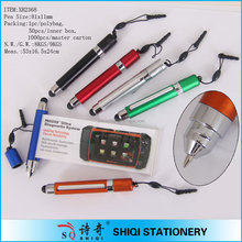 2 in 1 Promotional Wholesale Mini Stylus Touch Pen