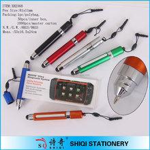 3 in 1 promotion Wholesale Mini Stylus Touch Pen