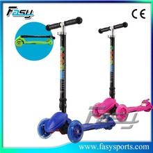 Fasy Different Size 3 wheel scooter for kids With Great Fun