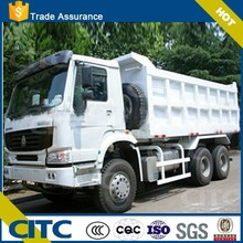 rear dump trailer steel material-color and logo optional/hydraulic dump trailer with new price