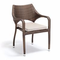 2015 stylish outdoor large wicker single seat sofa