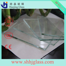 Haojing 3.2mm 4mm Low Iron Tempered Solar Glass Panel glass